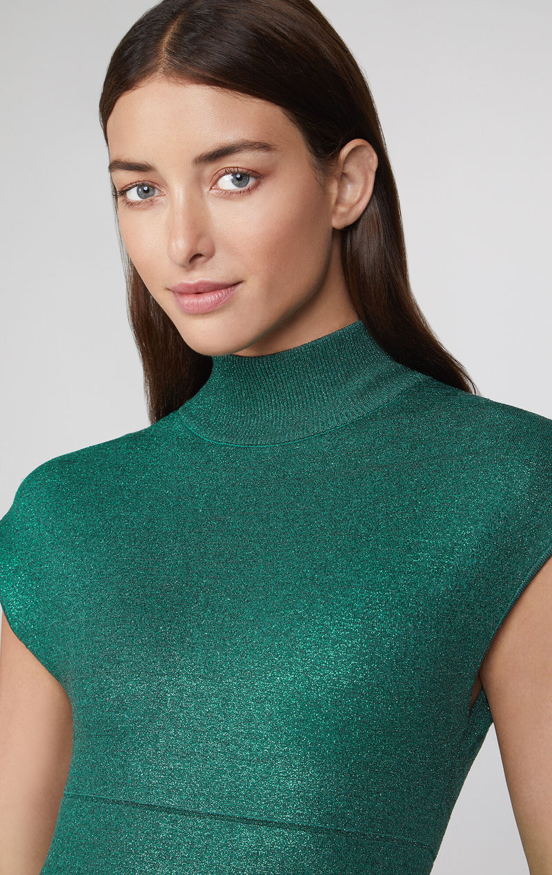 Disco Knit Minimal Dress