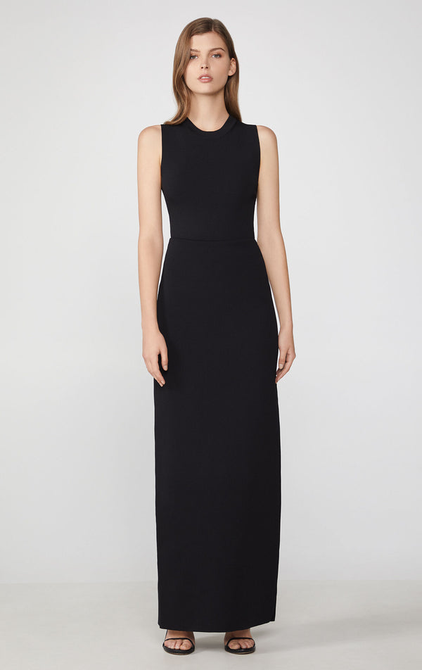 Slit Sheath Dress
