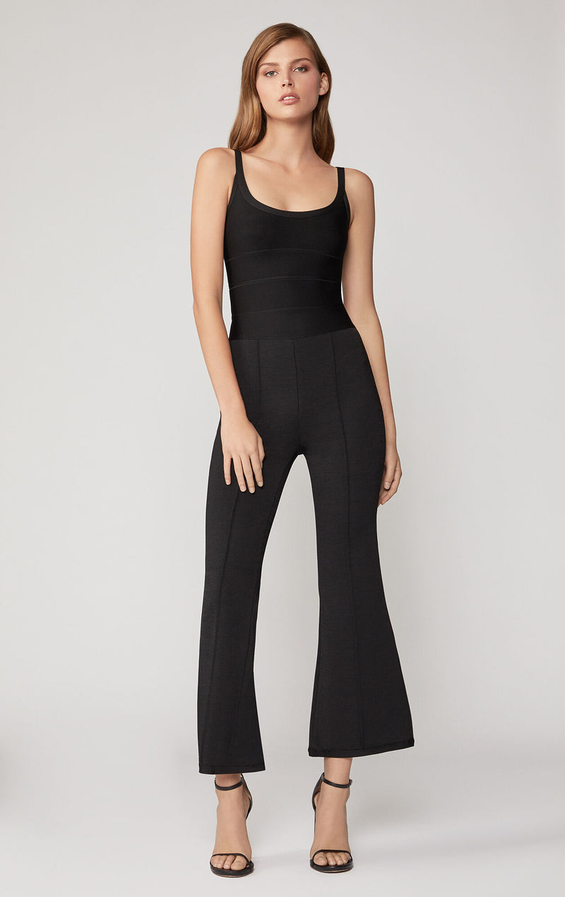Strappy Flare Jumpsuit
