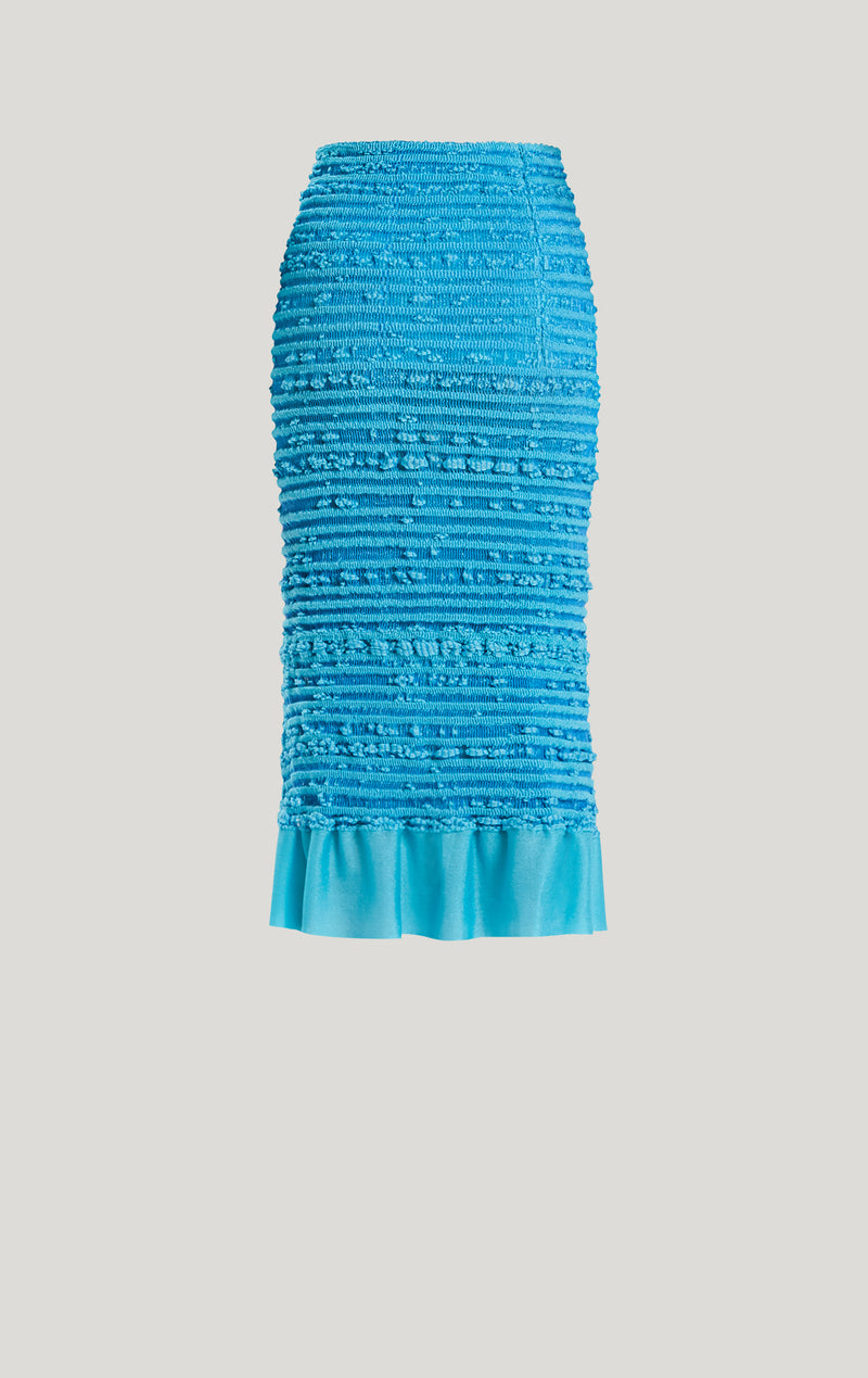 Textured Stitch Pencil Skirt