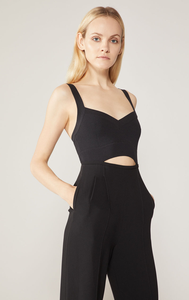 Sweetheart Cutout Jumpsuit