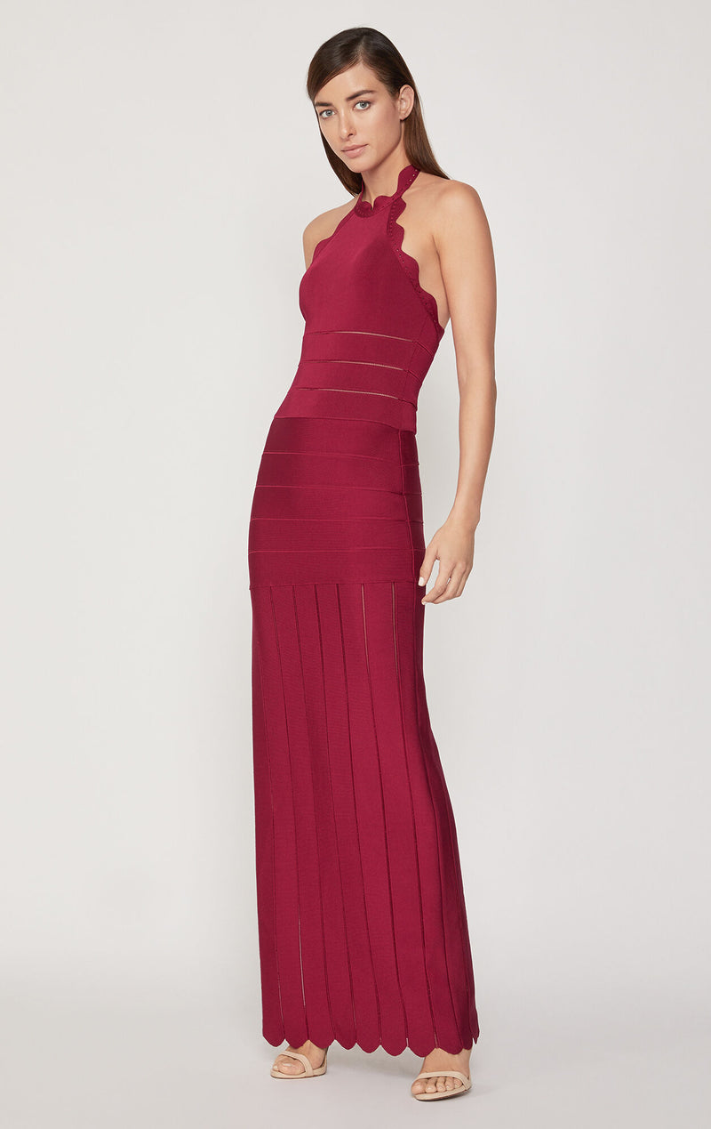 Scallop Edge Gown