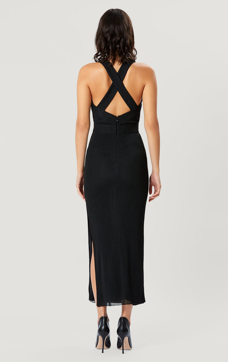 Twisted Drape Gown