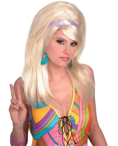 60's mod wig - blonde Forum Novelties centerpoint-fashion.myshopify.com