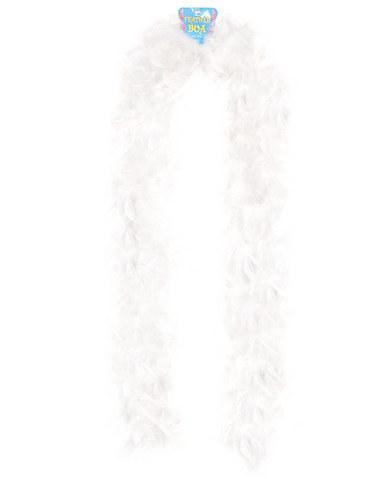 Feather boa 72in - white Assorted Vendors centerpoint-fashion.myshopify.com