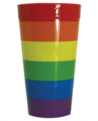 Rainbow Plastic Cup Assorted Vendors centerpoint-fashion.myshopify.com