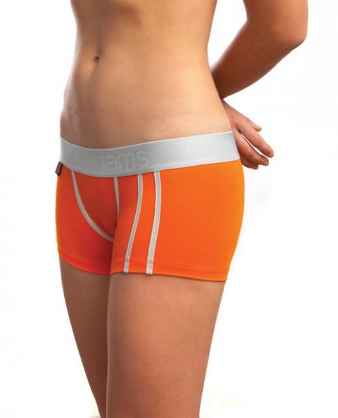 Jack Adams Women's Lux Modal Boyshorts Orange Md Jack Adams centerpoint-fashion.myshopify.com