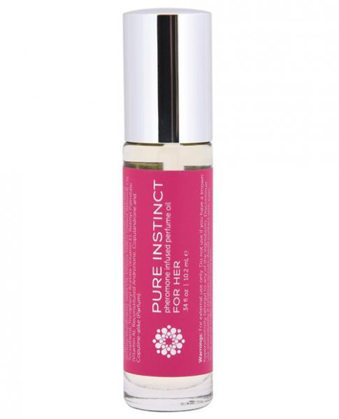 Pure Instinct Pheromone Perfume Oil Roll On For Her .34oz Classic Erotica centerpoint-fashion.myshopify.com