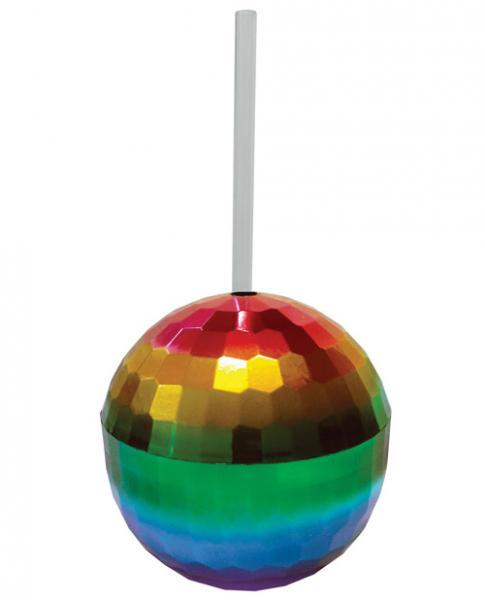 Rainbow Disco Ball Cup Kheper Games centerpoint-fashion.myshopify.com