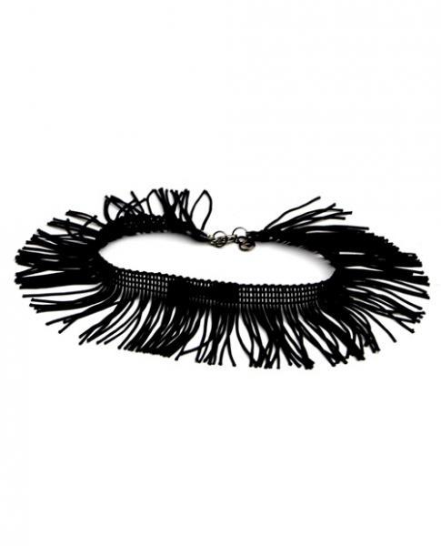 Tyes By Tara Fringe Benefits Bowtye Black Choker Tyes by Tara centerpoint-fashion.myshopify.com