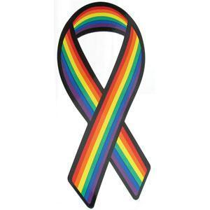 Gaysentials Pride Ribbon Magnet Phs International centerpoint-fashion.myshopify.com