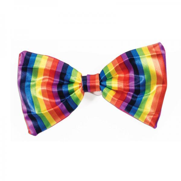 Rainbow Bowtie Forum Novelties centerpoint-fashion.myshopify.com