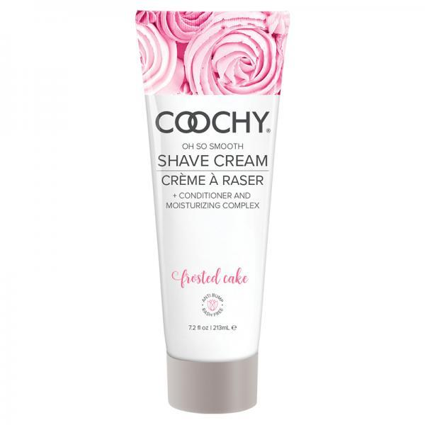 Coochy Shave Cream Frosted Cake 7.2 fluid ounces Classic Brands LLC cyberdealsexpress.myshopify.com