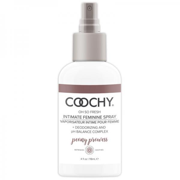 Coochy Intimate Feminine Spray Peony Prowess 4 fluid ounces Classic Brands LLC centerpoint-fashion.myshopify.com