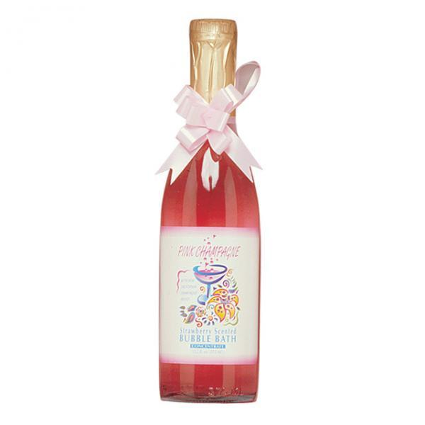 Pink Champagne Strawberry Scented Bubble Bath W-pheromones 12.2oz Kingman Industries Inc. centerpoint-fashion.myshopify.com