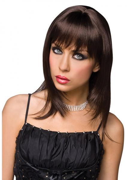 Steph Wig Brown Kalan centerpoint-fashion.myshopify.com