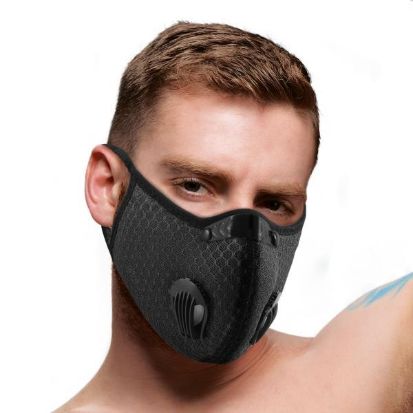 Quarantined 5 Layer Filtered Face Mask XR Brands centerpoint-fashion.myshopify.com