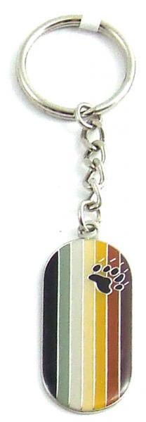 Gaysentials Enamel Key Chain Bear Flag Phs International centerpoint-fashion.myshopify.com