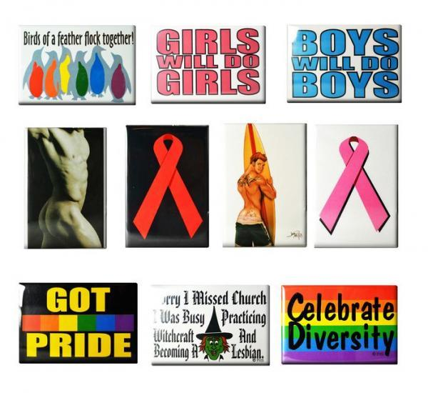 Gaysentials Magnet Pack B 10 Magnets Phs International centerpoint-fashion.myshopify.com