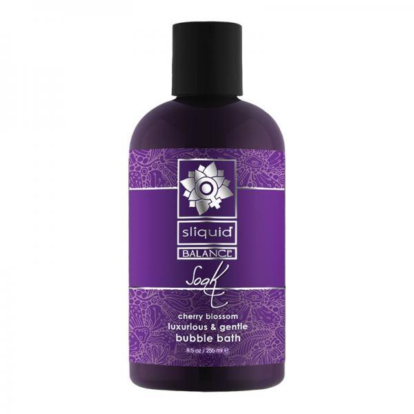 Sliquid Soak Bubble Bath Cherry Blossom 8.5 fluid ounces Sliquid Lubricants centerpoint-fashion.myshopify.com