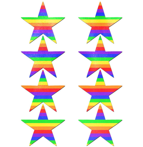 Pastease Body Minis 8pc Rainbow Star Pastease centerpoint-fashion.myshopify.com
