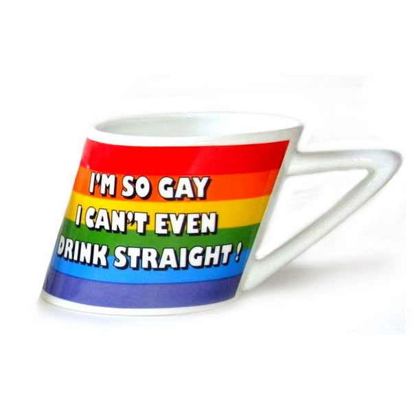 Slanted Rainbow Mug PHS INTERNATIONAL centerpoint-fashion.myshopify.com