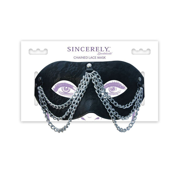 Sincerely Chained Lace Mask Sport Sheets centerpoint-fashion.myshopify.com