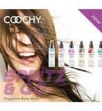 Coochy Body Mist Introductory Pre-pack Classic Erotica centerpoint-fashion.myshopify.com