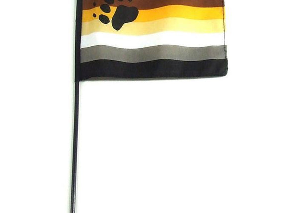 Bear Stick 4 X 6 Flag PHS INTERNATIONAL centerpoint-fashion.myshopify.com