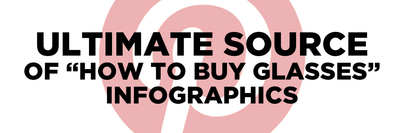 "The Ultimate Source of ""How to Buy Glasses"" Infographics"
