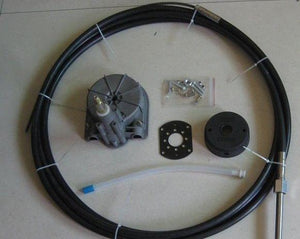 Universal Boat Steering Box Kit 15FT ~ 4.57M Cable - Boat Steering
