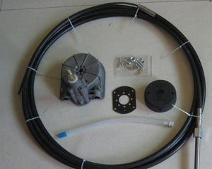 Universal Boat Steering Box Kit 17FT ~ 5.18M Cable - Boat Steering