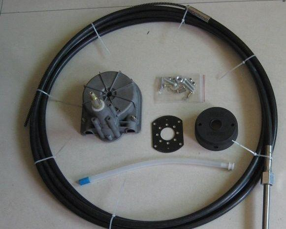 Universal Boat Steering Box Kit 14FT ~ 4.26M Cable - Boat Steering