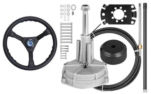 Boat Steering Kit cable helm wheel Multiflex Teleflex Compatible - Boat Steering