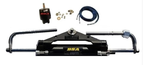 BSA Hydraulic Outboard Motor Steering Kit up to 150HP - Boat Steering