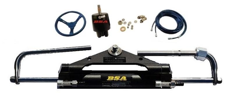 Yamaha Mercury Hydraulic Outboard Motor Steering Kit up to 150HP - Boat Steering