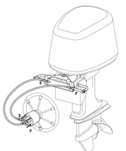 Load image into Gallery viewer, BSA Hydraulic Outboard Motor Steering Kit up to 150HP - Boat Steering