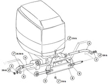 Load image into Gallery viewer, Suzuki Hydraulic Outboard Motor Steering Kit up to 150HP - Boat Steering