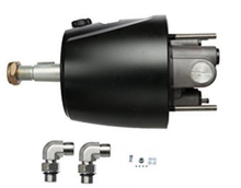 Load image into Gallery viewer, BSA Twin Hydraulic Outboard Motor Steering Kit 150HP - 300HP - Boat Steering