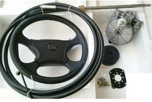 BOAT STEERING WHEEL SYSTEM QUICK CONNECT STEERING KIT - Boat Steering