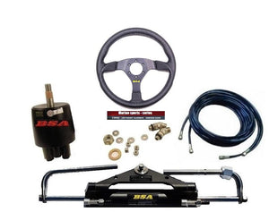Johnson Hydraulic Outboard Motor Steering Kit up to 150HP - Boat Steering