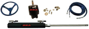 BSA Side Mount Outboard marine hydraulic steering cylinder kit - Boat Steering