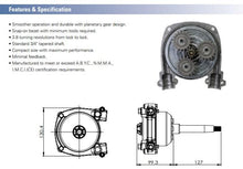 Load image into Gallery viewer, Planetary Gear Helm Boat Steering Kits 7ft (2.14m) - Boat Steering