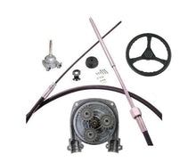 Load image into Gallery viewer, Planetary Boat Steering Kit cable helm wheel Multiflex Teleflex Compatible - Boat Steering