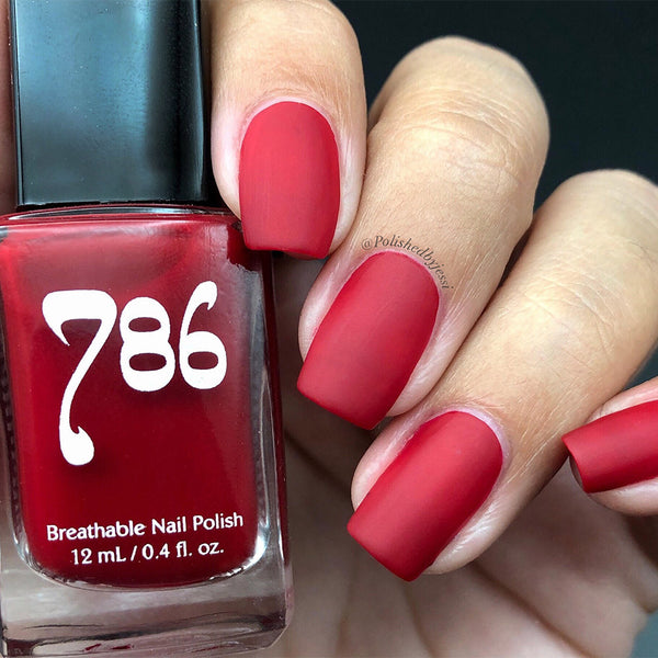 Red Nail Polish Set (6 Piece)