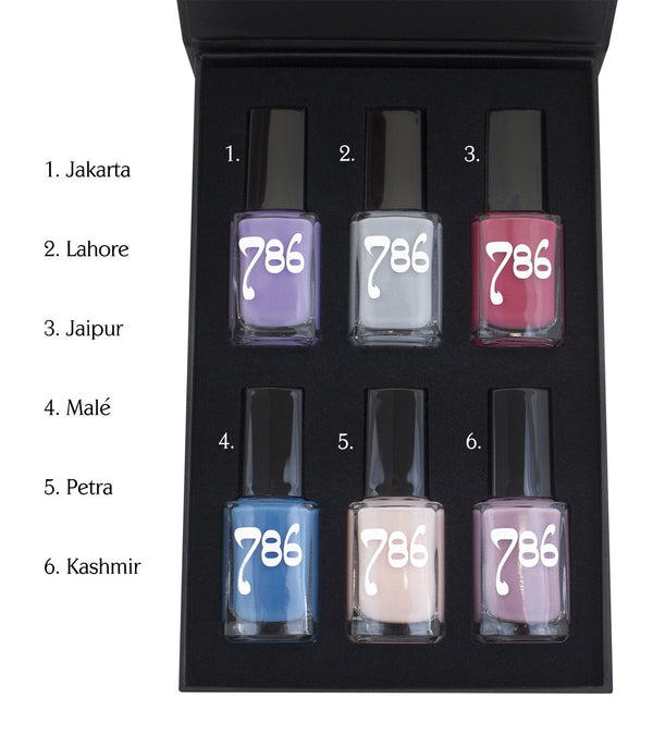 Asia-Inspired Nail Polish Set