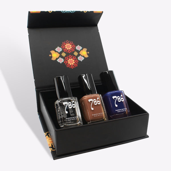 Central Asia Nail Polish Set (3 Piece)