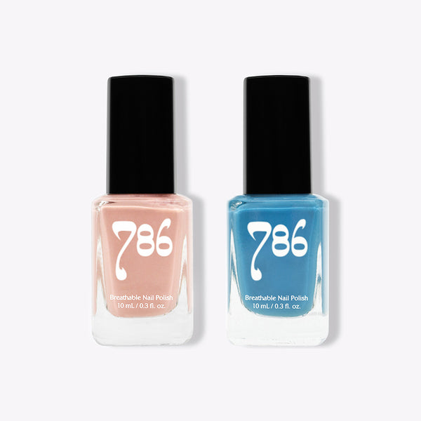 Dakar and Malé - Halal Nail Polish (2 Piece Set)