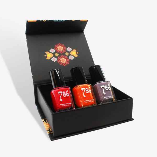 Southwest Europe Nail Polish Set (3 Piece)