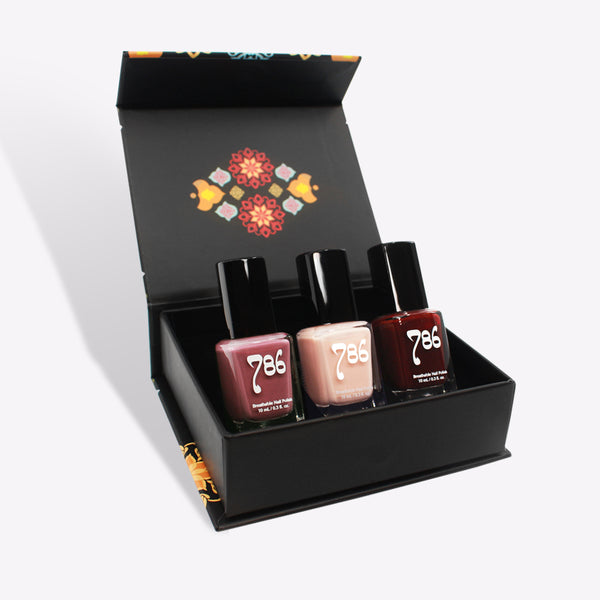 West Asia Nail Polish Set (3 Piece)
